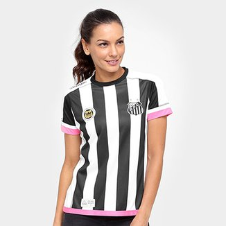 c419e9feb6290 Camisa Santos II 17 18 Torcedor Kappa Feminina