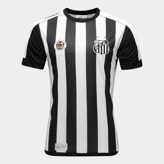 616c1fcb114aa Camisa Santos II 17 18 s nº Torcedor Kappa Masculina - Compre Agora ...
