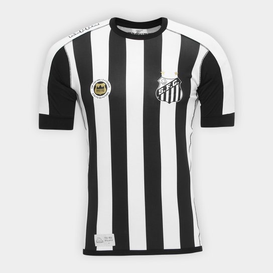 Camisa Santos II Kombat 17 18 s nº Jogador Kappa Masculina - Compre ... d433d1b7f8b4c