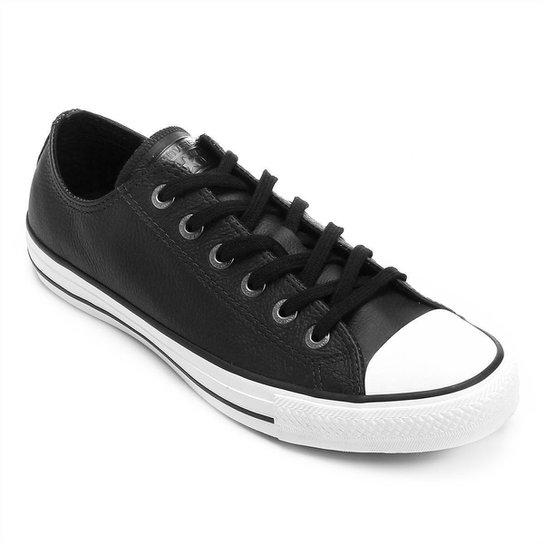12e418296 Tênis Converse All Star Chuck Taylor - Preto e Branco - Compre Agora ...