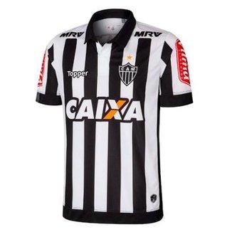 Camisa Atlético-MG Infantil I 17 18 s nº Torcedor Topper 06b722230f06a