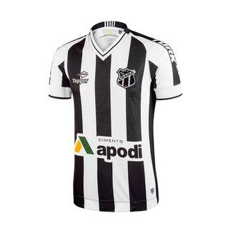 Camisa Topper Ceará Home 2016 e9ab40a0f985b
