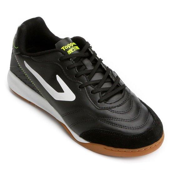 Chuteira Futsal Topper Maestro TD - Compre Agora  2667a68acc9cc