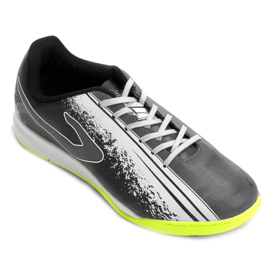 7a6d6912fc9 Chuteira Futsal Topper Trivela - Preto e Branco - Compre Agora ...