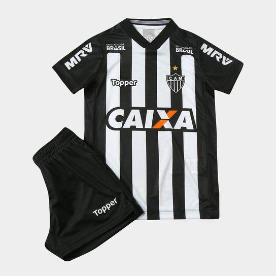 0d49529f38 Kit Infantil Atlético-MG I 2018 s n° Torcedor Topper - Compre Agora ...