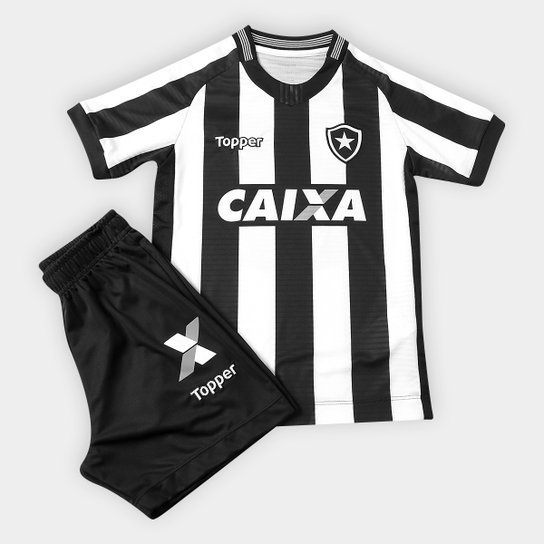 e7fa146930 Kit Botafogo Infantil I 2018 s n° Torcedor Topper - Compre Agora ...