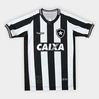 b3de586459 Camisa Botafogo I 2018 s n° Torcedor Topper Infantil