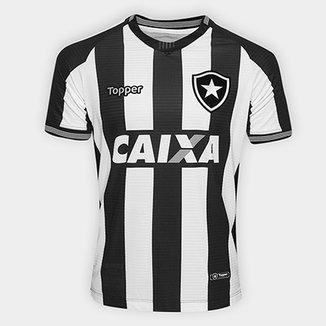 d107ac24f7b24 Camisa Botafogo I 2018 s n° Torcedor Topper Masculina