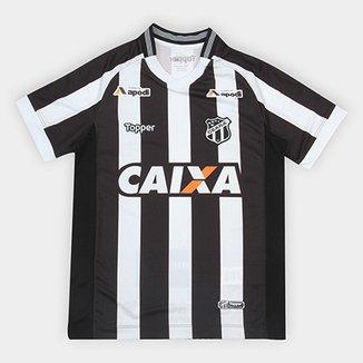 Camisa Ceará Infantil I 2018 s n° Torcedor Topper f9b526a3c10e2