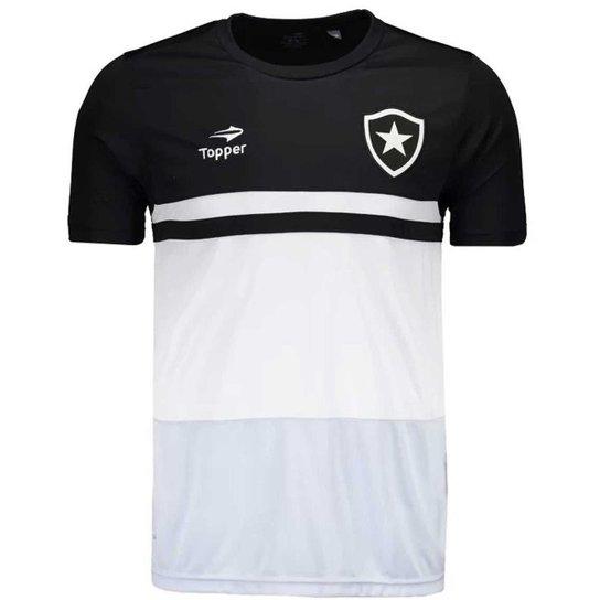 e5175551f8d86 Camisa Topper Botafogo Concentração Masculina - Compre Agora