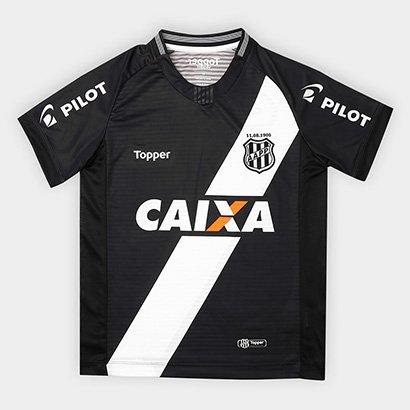 Camisa Ponte Preta Infantil II 2018 s/n° - Torcedor Topper