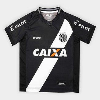 e00add069ebf7 Camisa Ponte Preta Infantil II 2018 s n° - Torcedor Topper
