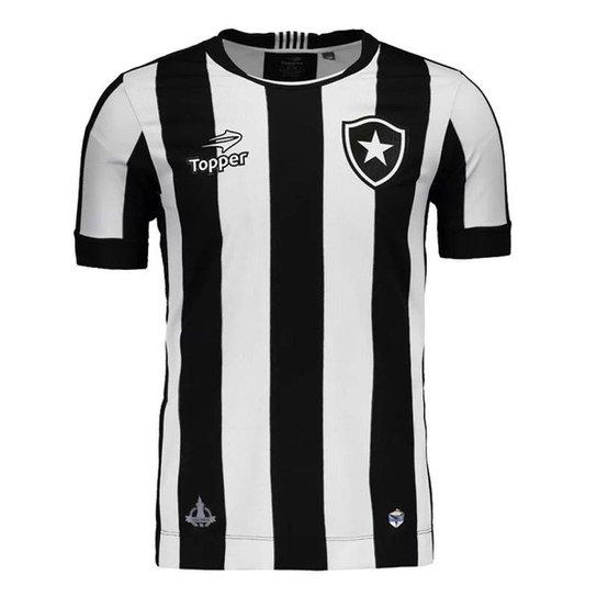 f00c93f270466 Camisa Topper Botafogo Home Nº10 Masculina - Compre Agora