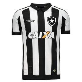 Camisa Topper Botafogo Goleiro 2016 s nº - Jefferson - Compre Agora ... bd624e32e2aad