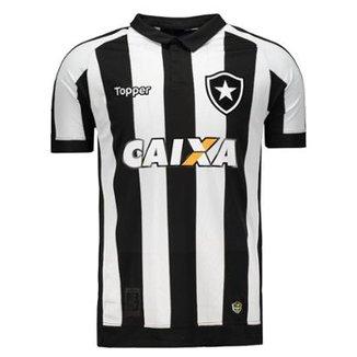 Camisa Topper Botafogo I 2017 Patrocínio ca828a0b45e95