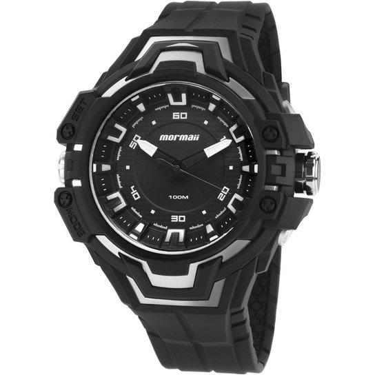 b27d6d9840c Relógio Mormaii-MOY121EAA - Preto e Branco - Compre Agora