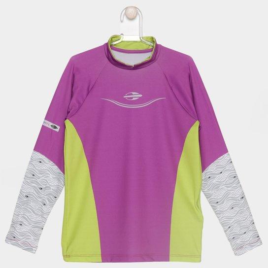 b0afdd2678 Camiseta Mormaii UV Manga Longa Infantil - Compre Agora