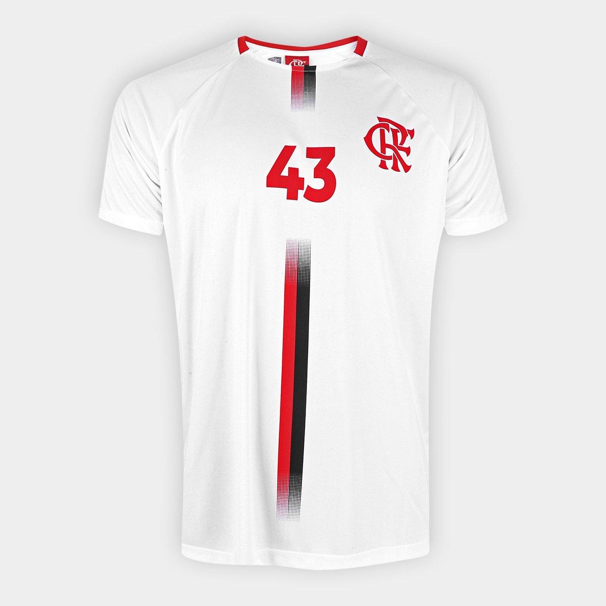 Camisa Flamengo Pet n°43 Exclusiva Masculina