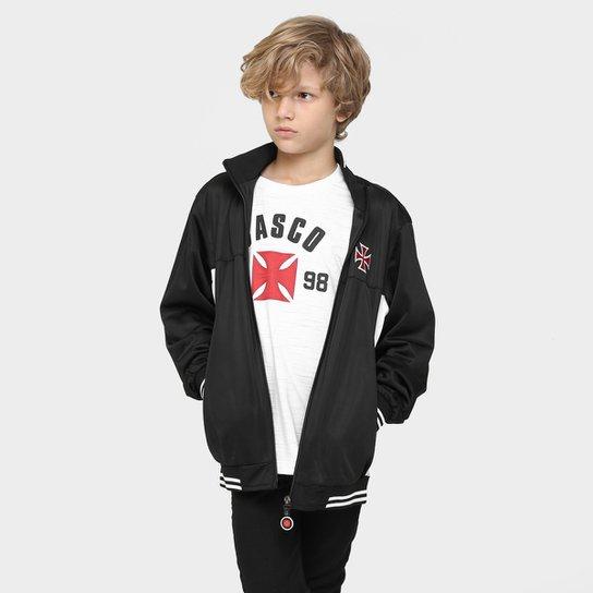 Jaqueta Vasco Trilobal Juvenil - Compre Agora  df469ed174d83
