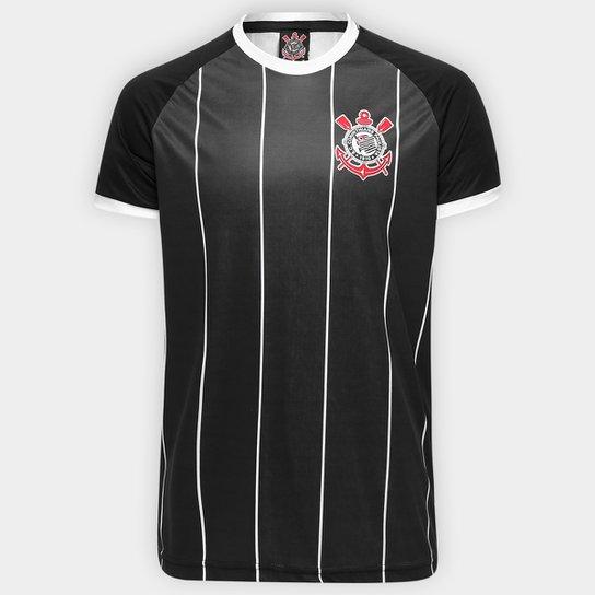 9b2050728a2 Camisa Corinthians Fenomenal - Edição Limitada Torcedor Masculina - Preto+ Branco
