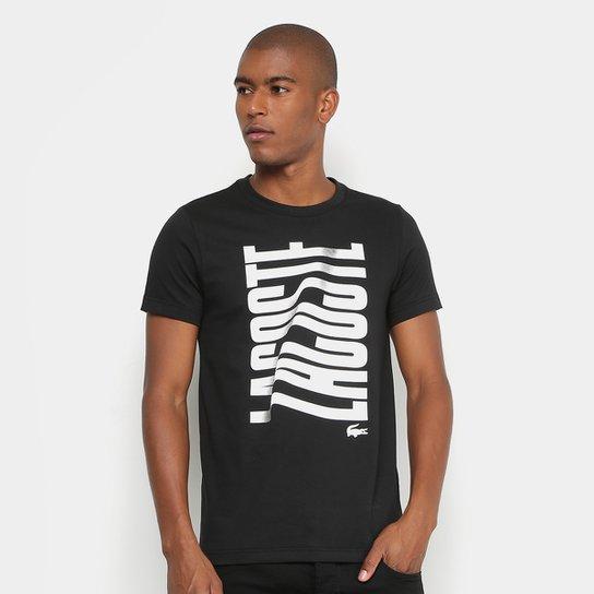 0867d6d6323 Camiseta Lacoste Logo Masculina - Compre Agora
