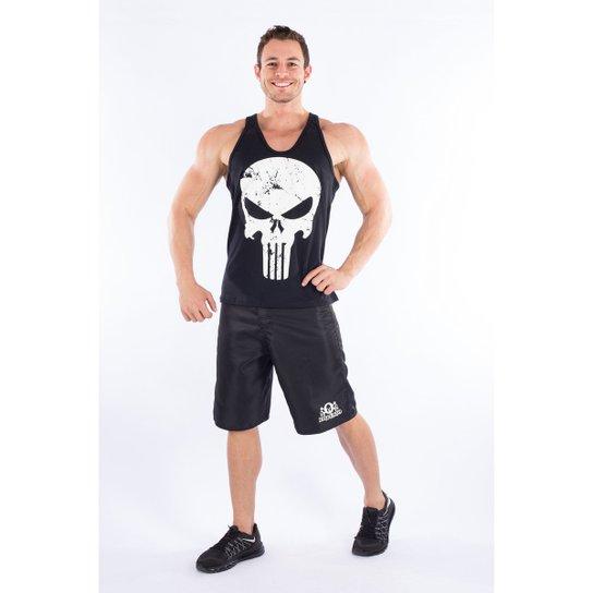 Regata The Punisher (O Justiceiro) - Preto e Branco - Compre Agora ... 91d44ad779d