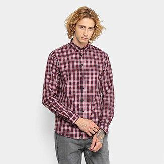 07df9f2c69873 Camisa Xadrez Triton Manga Longa Comfort Masculina