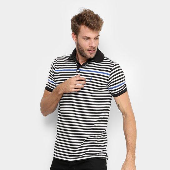 d2dbaede2f Camisa Polo Aleatory Malha Listras Masculina - Compre Agora
