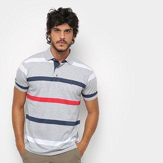 Camisa Polo Aleatory Listrada Masculina 39e6b8a4c06