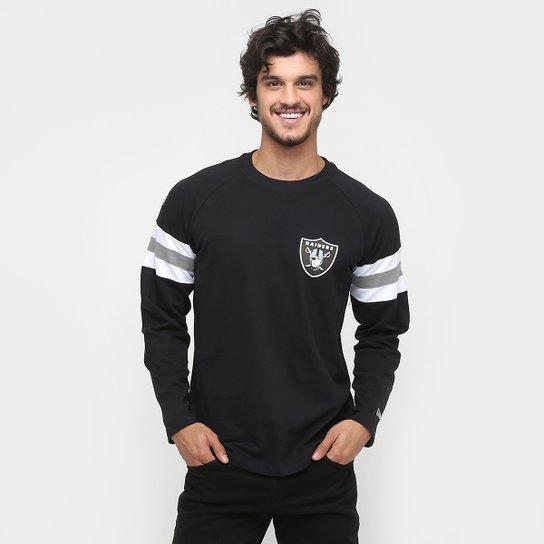1030b31b82c67 Camiseta New Era NFL Hock Oakland Raiders M L - Compre Agora