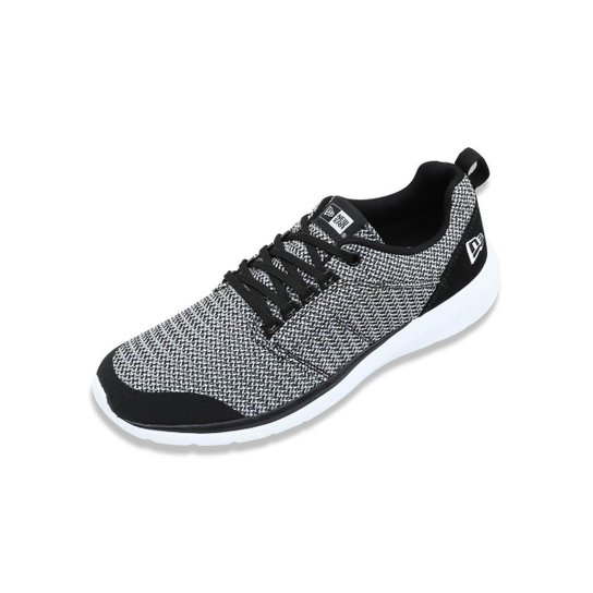 80a7063753c Tenis New Era Sneaker Branded Masculino - Preto e Branco - Compre ...