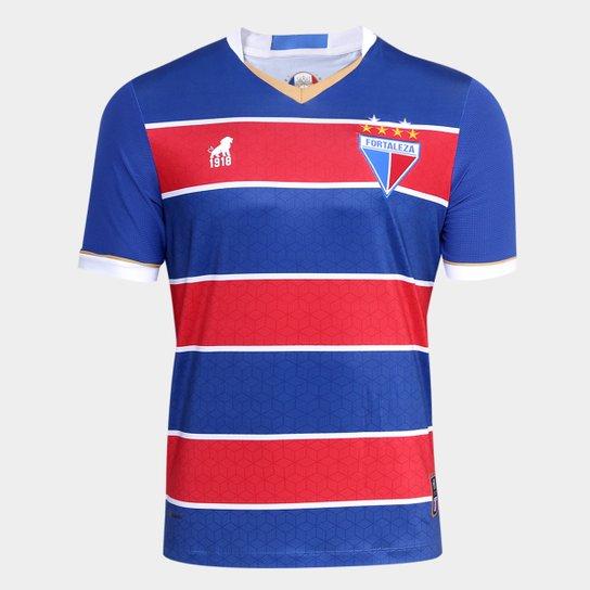 88fc0ae0676fd Camisa Fortaleza I n° 18 17/18 Masculina - Azul+Vermelho