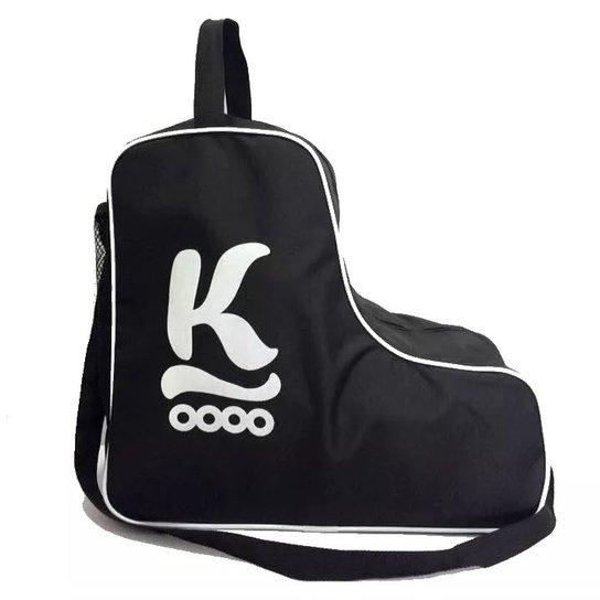 0b532d158 Bolsa para patins K - Preto+Branco
