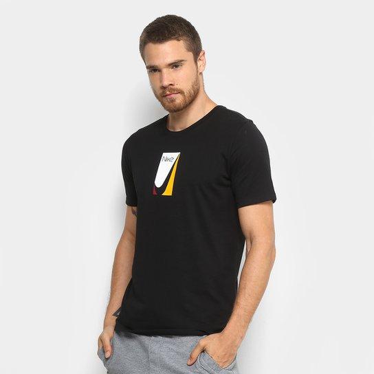 57fa40664a Camiseta Nike M Sb Color Block Masculina - Compre Agora