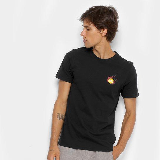 7c67a92f739e8 Camiseta Nike M Sb Dragon Masculina - Preto+Amarelo ...