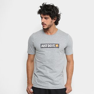f2525625a63db Compre Camisetas Nike Cinza Online