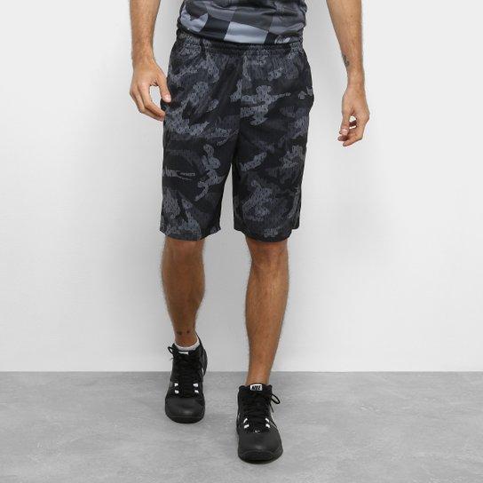 0ba49a7a71 Bermuda Nike Dry Nothing But Masculina - Preto e Branco - Compre ...