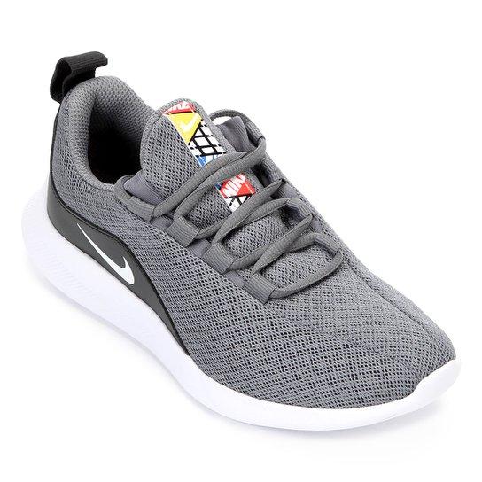 f2829d9fc483f Tênis Nike Infantil Viale - Cinza e Branco | Netshoes