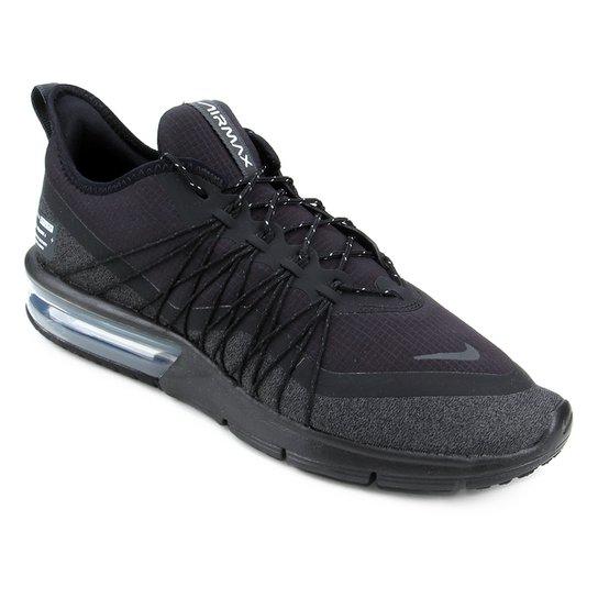 50643867272ad Tênis Nike Air Max Sequent 4 Utility Masculino - Preto e Branco ...