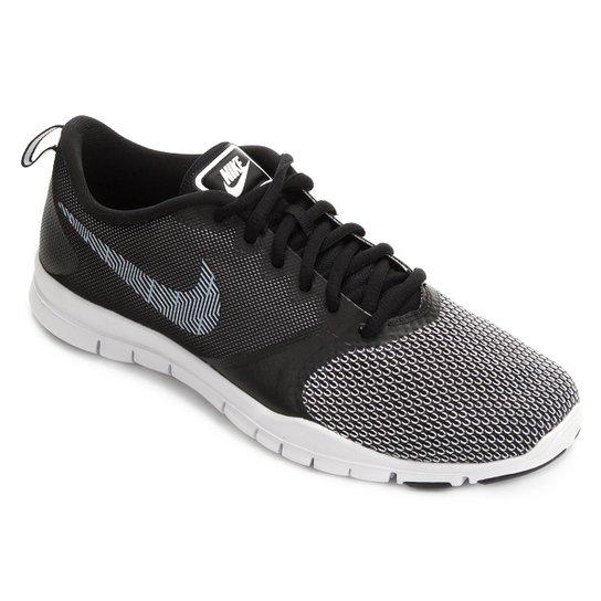 f895b90e3ed Tênis Nike Flex Essential Tr Pt Feminino - Preto e Branco - Compre ...