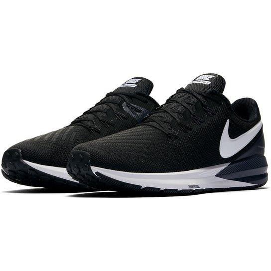 d527a725efa Tênis Nike Air Zoom Structure 22 Masculino - Preto e Branco - Compre ...