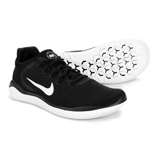 ... Tênis Nike Free Rn 2018 Masculino - Preto e Branco - Compre Agora . 11351c4284c99