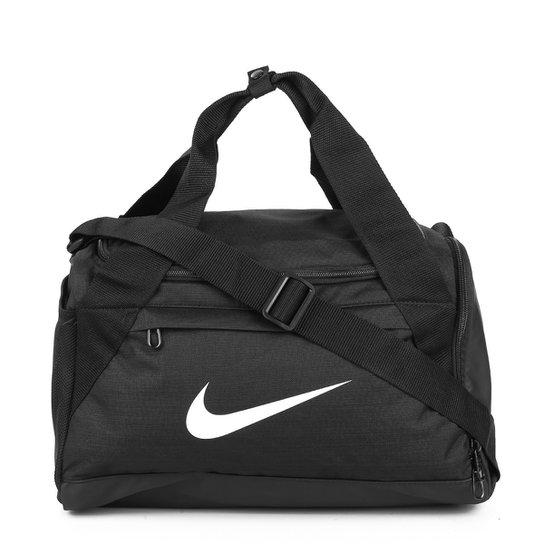 3be9bb568 Mala Nike Brasilia Small Duff - Preto+Branco