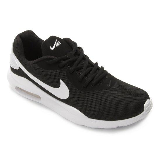 purchase cheap 471af 2a6bf Tênis Nike Air Max Oketo Masculino - Preto+Branco