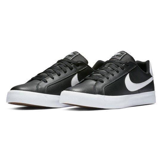 7c9e424d93 Tênis Nike Court Royale Ac Masculino - Preto e Branco   Netshoes