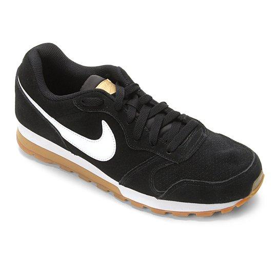 ... Tênis Nike Md Runner 2 Suede Masculino - Preto e Branco - Compre . 017857023a885
