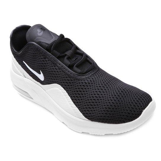 a1381b656b Tênis Nike Wmns Air Max Motion Feminino - Preto e Branco - Compre ...