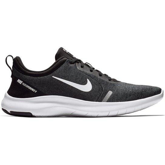 817d74e1dd Tênis Nike Flex Experience Rn 8 Masculino - Preto e Branco | Netshoes