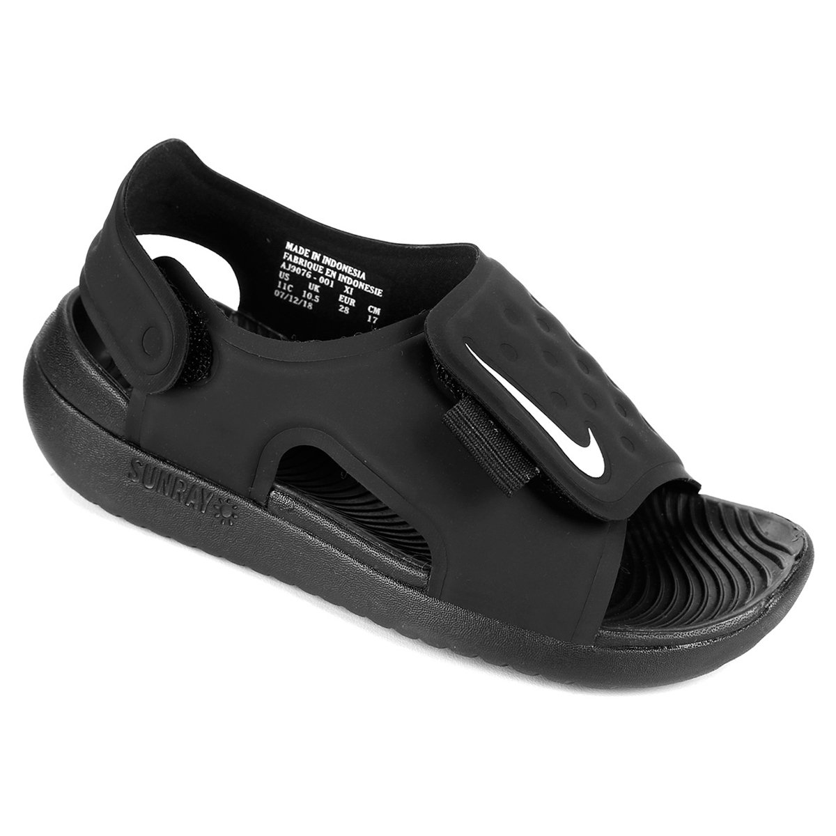 34dfde4c8 Sandália Infantil Nike Sunray Adjust 5 - Tam: 31 - Shopping TudoAzul