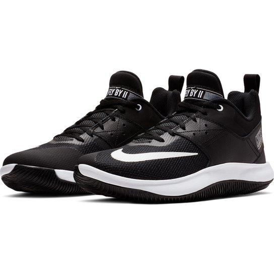867b528802005 Tênis Nike Fly By Low II Masculino - Preto e Branco - Compre Agora ...